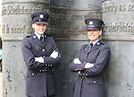 23/7/2015.    Graduating from the Garda College in Templemore this Thursday were R&oacute;is&iacute;n Rowley-Brooke from Kilkenny city and Maria O'Sullivan from Cullen, Co. Tipperary who will both be station in Bray.<br /> Photograph Liam Burke/Press 22