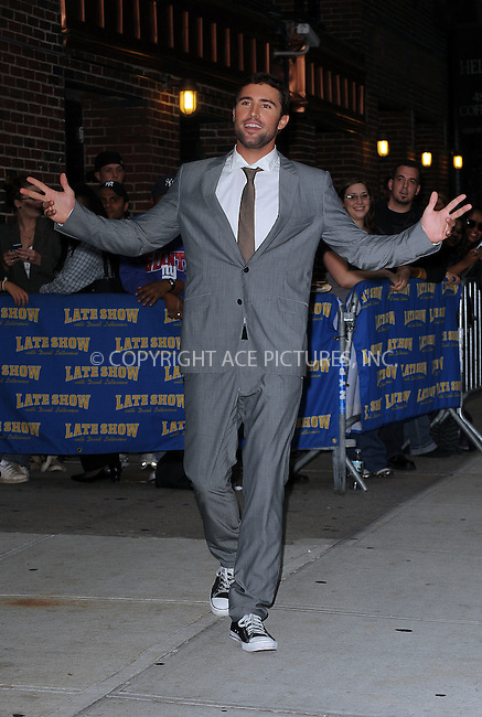WWW.ACEPIXS.COM . . . . . ....September 28 2009, New York City....Brody Jenner made an appearance at the 'Late Show with David Letterman' on September 28 2009 in New York City....Please byline: KRISTIN CALLAHAN - ACEPIXS.COM.. . . . . . ..Ace Pictures, Inc:  ..(212) 243-8787 or (646) 679 0430..e-mail: picturedesk@acepixs.com..web: http://www.acepixs.com