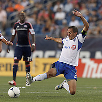 New England Revolution vs Montreal Impact, August 12, 2012