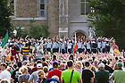 Aug. 30, 2013; Pep rally before the Temple game, 2013.<br /> <br /> Photo by Matt Cashore/University of Notre Dame