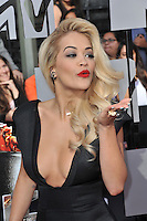 Rita Ora at the 2014 MTV Movie Awards at the Nokia Theatre LA Live.<br /> April 13, 2014  Los Angeles, CA<br /> Picture: Paul Smith / Featureflash