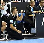 12.01.2019, Mercedes Benz Arena, Berlin, GER, Germany vs. Brazil, im Bild Cheftrainer (Head Coach) Christian Prokop (GER)<br /> <br />      <br /> Foto &copy; nordphoto / Engler