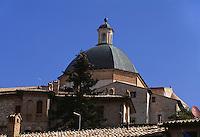 Italien, Umbrien, Kuppel von Dom San Rufino in Assisi