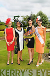 Pictured at Killarney Races Ladies Day on Thursday, from left: Yvonne Keating, Celia Holman Lee, Queen of Fashion, Ciara Kelly and Tara Talbot.
