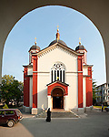 Exterior of the Assumption of the Virgin Mary Serbian Orthodox Church, Kragujevac, Serbia