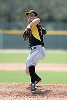 Pittsburgh Pirates pitcher Billy Roth (44) during an Instructional League game against the New York Yankees on September 18, 2014 at the Pirate City in Bradenton, Florida.  (Mike Janes/Four Seam Images)