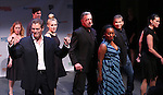 Kevin Spiratas and cast from 'Mr. Confidential' performs in a special preview of the 2014 New York Musical Theatre Festival (NYMF) at Ford Foundation Studio Theatre in The Pershing Square Signature Center on July 2, 2014 in New York City.