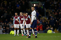 7th March 2020; Turf Moor, Burnley, Lanchashire, England; English Premier League Football, Burnley versus Tottenham Hotspur;  Dele Alli of Tottenham Hotspur looks away before he steps up to take a penalty that will level the scores at 1-1 in the 50th minute