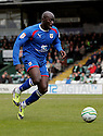 Patrick Agyemang of Stevenage (on loan from QPR). - Yeovil Town v Stevenage - npower League 1 - Huish Park, Yeovil - 14th April, 2012 . © Kevin Coleman 2012..