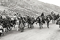 Iraq 1971.Kurdish nomads, near the Gali Ali Beg,  on their way to the summer pastures<br />