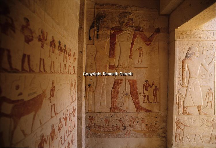 Tomb of Kai, Giza, Egypt, Old Kingdom, Pyramid Builders, Archaeology