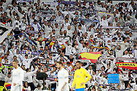 Real Madrid's supporters during La Liga match. November 5,2017. (ALTERPHOTOS/Acero)