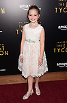 HOLLYWOOD, CA - JULY 27:  Actress Chloe Guidry arrives at the Premiere Of Amazon Studios' 'The Last Tycoon' at the Harmony Gold Preview House and Theater on July 27, 2017 in Hollywood, California.
