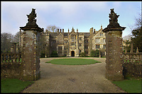 Bmth News (01202 558833)<br /> Pic: PhilYeomans/BNPS<br /> <br /> An historic stately home that burned to the ground in a devastating arson attack has been put up for sale for &pound;3m - &pound;12m less than what it was worth.<br /> <br /> Grade I listed Parnham House, near Beaminster, Dorset, is now just a charred shell of the magnificent mansion it once was.<br /> <br /> It was destroyed in the huge blaze in April last year and its millionaire owner, hedge fund manager Michael Treichl, was arrested on suspicion of starting the fire.<br /> <br /> But while on police bail, Mr Treichl, 69, was found drowned in Lake Geneva, Switzerland, in an apparent suicide.<br /> <br /> Despite initial vows by the family that they would rebuild the 500-year-old home, receivers have been brought in by the mortgage lenders to sell what remains of the property.