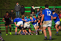 Action from the 2017 1st XV rugby Top Four boys semfinal between Hamilton Boys' High School and Southland Boys' High School at Sports and Rugby Institute in Palmerston North, New Zealand on Friday, 8 September 2017. Photo: Dave Lintott / lintottphoto.co.nz