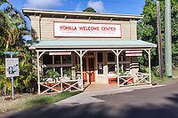 Kohala Welcome Center, Hawi, Big Island.