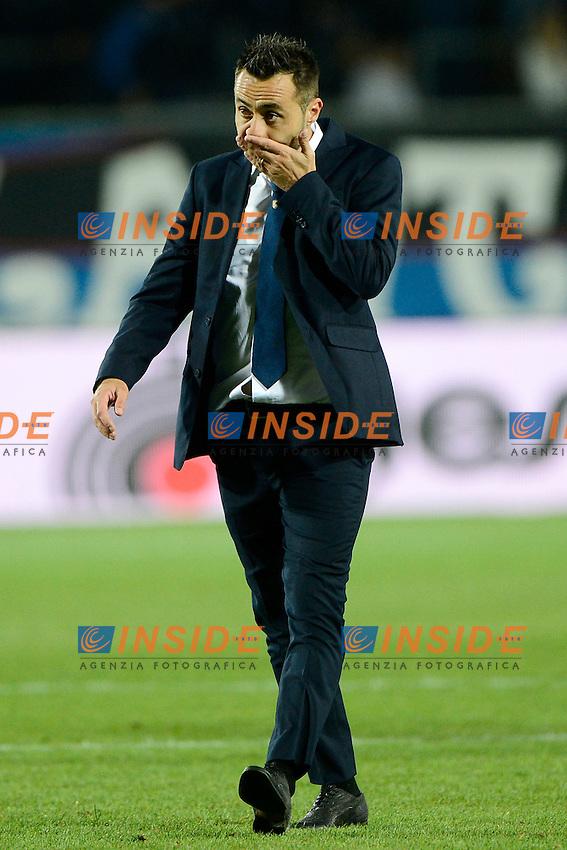 Roberto De Zerbi allenatore Palermo<br /> Bergamo 21-09-2016 Stadio Ateleti Azzurri - Football Calcio Serie A Atalanta - Palermo. Foto Giuseppe Celeste / Insidefoto