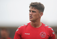 Fleetwood Town's Harrison Biggins during the pre-match warm-up <br /> <br /> Photographer Kevin Barnes/CameraSport<br /> <br /> The EFL Sky Bet Championship - Fleetwood Town v AFC Wimbledon - Saturday 10th August 2019 - Highbury Stadium - Fleetwood<br /> <br /> World Copyright © 2019 CameraSport. All rights reserved. 43 Linden Ave. Countesthorpe. Leicester. England. LE8 5PG - Tel: +44 (0) 116 277 4147 - admin@camerasport.com - www.camerasport.com
