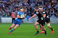 Beauden Barrett in action during the Super Rugby Aotearoa match between the Blues and Chiefs at Eden Park in Auckland, New Zealand on Sunday, 26 July 2020. Photo: Dave Lintott / lintottphoto.co.nz