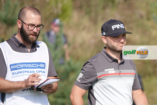 Andy Sullivan (ENG) during the final round of the Porsche European Open , Green Eagle Golf Club, Hamburg, Germany. 08/09/2019<br /> Picture: Golffile | Phil Inglis<br /> <br /> <br /> All photo usage must carry mandatory copyright credit (© Golffile | Phil Inglis)