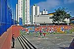 Escola Estadual no bairro do Brás, São Paulo. 2003. Foto de Juca Martins.