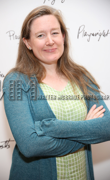 Sarah Ruhl attends the meet & Greet for Playwrights Horizons New York Premiere pf 'For Peter Pan on her 70th Birthday' on July 25, 2017 at the Playwrights Horizons Studios at  in New York City.