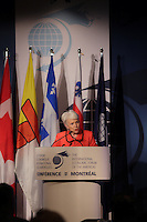 Montreal, CANADA, June, 2015  File Photo<br /> <br /> Marie-Josee nadeau<br /> <br /> <br /> attend the The International Economic Forum of the Americas<br /> <br /> Photo :   Pierre Roussel - AQP