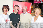 HAPPY HEARTS: At the launch of the Killorglin Happy Hearts fundraiser at the Fishery, Killorglin on Thursday last were Anne Coffey, John Melia, Tom Melia and Marie Melia.   Copyright Kerry's Eye 2008