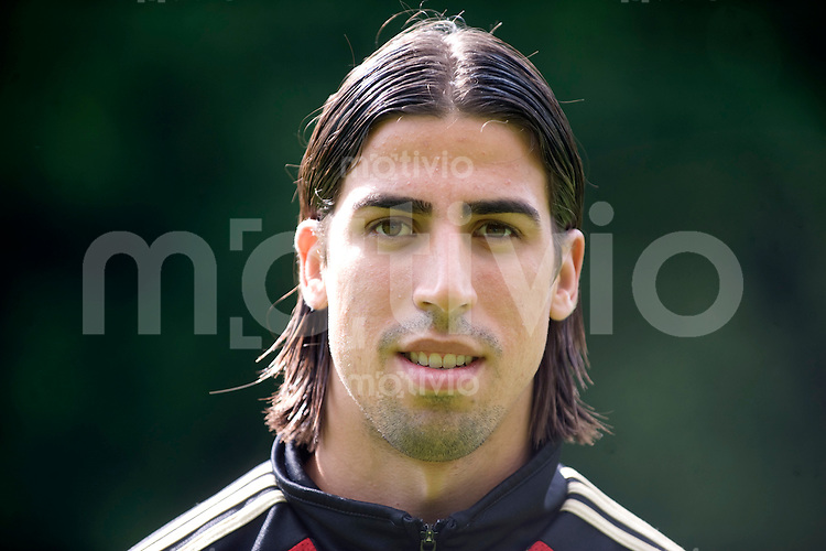 Fussball    International     Nationalmannschaft   U 21 Deutschland        05.06.2009  Sami KHEDIRA (GER), Portrait.