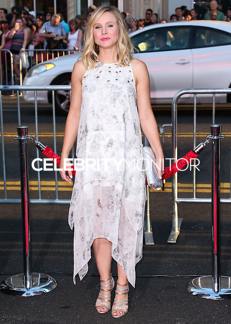 "HOLLYWOOD, LOS ANGELES, CA, USA - SEPTEMBER 15: Actress Kristen Bell arrives at the Los Angeles Premiere Of Warner Bros. Pictures' ""This Is Where I Leave You"" held at the TCL Chinese Theatre on September 15, 2014 in Hollywood, Los Angeles, California, United States. (Photo by Xavier Collin/Celebrity Monitor)"