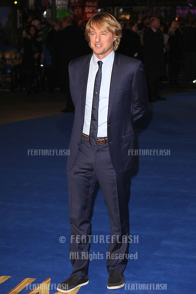 Owen Wilson arriving for the Night At The Museum: Secret Of The Tomb UK premiere, at the Empire leicester Square, London. 15/12/2014 Picture by: Alexandra Glen / Featureflash