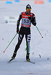 03/01/2014, Dobbiaco, Toblach - 2014 Cross Country Ski World Cup Tour de ski <br /> David Hofer in action during the Men 35 km Free Pursuit  in Dobbiaco, Toblach, Italy on 03/01/2014.