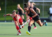 Lulu Tuilotolava. International Hockey Warmup game, Blacksticks women v Chile.Auckland Grammar Hockey Turf, Auckland, New Zealand. Thursday 13 December 2018. Photo: Simon Watts/Hockey NZ