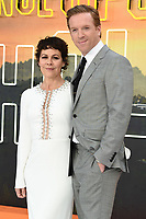 "LONDON, UK. July 30, 2019: Helen McCrory & Damian Lewis at the UK premiere for ""Once Upon A Time In Hollywood"" in Leicester Square, London.<br /> Picture: Steve Vas/Featureflash"