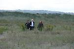 Gormley visits nesting birds