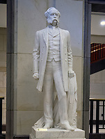 Statue of General Wade Hampton that is part of the National Statuary Hall Collection in the United States Capitol in Washington, DC on Thursday, August 31, 2017.   The statue of General Hampton was given to the Collection by the State of South Carolina in 1929. The collection is comprised of 100 statues, two from each state.  Of those, twelve depict Confederate leaders.  The statues have become controversial and there have been calls for their removal from the US Capitol.<br /> Credit: Ron Sachs / CNP /MediaPunch