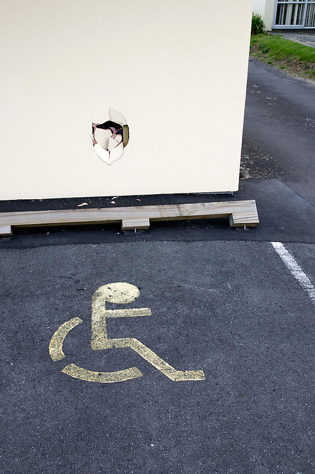 Wheelchair parking, Tauranga 2008