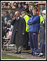 01/02/2003                   Copyright Pic : James Stewart.File Name : stewart-falkirk v st john 08.THE OLD AND THE NEW.... FORMER BOSS ALEX TOTTEN AND NEW COACH BRIAN RICE WATCH FROM THE DUG OUT.....James Stewart Photo Agency, 19 Carronlea Drive, Falkirk. FK2 8DN      Vat Reg No. 607 6932 25.Office     : +44 (0)1324 570906     .Mobile  : +44 (0)7721 416997.Fax         :  +44 (0)1324 570906.E-mail  :  jim@jspa.co.uk.If you require further information then contact Jim Stewart on any of the numbers above.........