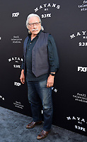 "LOS ANGELES - AUGUST 27: Edward James Olmos attends the season two red carpet premiere of FX's ""Mayans M.C"" at the ArcLight Dome on August 27, 2019 in Los Angeles, California. (Photo by Frank Micelotta/FX/PictureGroup)"