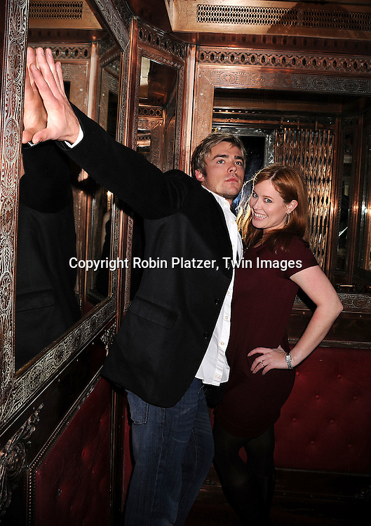 John-Paul Lavoisier and Melissa Archer.at The One Life to Live Holiday Party on December 19, 2007 at Capitale in New York. .Robin Platzer, Twin Images