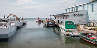 Fishing Boat Apostle Islands National Seashore Bayfield Wisconsin.