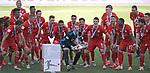 27.06.2020, Fussball: nph00001 1. Bundesliga 2019/2020, 34. Spieltag, VfL Wolfsburg - FC Bayern Muenchen, in der Volkswagen-Arena Wolfsburg. Siegerehrung nach dem Spiel: Der FC Bayern MŸnchen feiert den Gewinn der 30. Deutschen Meisterschaft. Torwart Manuel Neuer (mi., Bayern MŸnchen) mit der Schale<br /><br />Foto: Bernd Feil/M.i.S./ /Pool/nordphoto<br /><br />Nur fŸr journalistische Zwecke! Only for editorial use! <br /><br />GemŠ§ den Vorgaben der DFL Deutsche Fussball: nph00001 Liga ist es untersagt, in dem Stadion und/oder vom Spiel angefertigte Fotoaufnahmen in Form von Sequenzbildern und/oder videoŠhnlichen Fotostrecken zu verwerten bzw. verwerten zu lassen. DFL regulations prohibit any use of photographs as image sequences and/or quasi-video.    <br /><br />National and international NewsAgencies OUT.