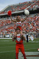 Virginia win over Georgia Tech 28-23 September 22, 2007 in Charlottesville, VA. (Photo/Andrew Shurtleff)