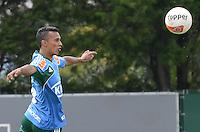 SAO PAULO, 29 DE MARCO DE 2013 - TREINO PALMEIRAS - O jogador Juninho durante treino do Palmeiras, no CT da Barra Funda, região oeste da capital, na manha desta sexta feira, 29. (FOTO: ALEXANDRE MOREIRA / BRAZIL PHOTO PRESS)