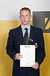 Boys Soccer winner Jacob Mathews. ASB College Sport Young Sportperson of the Year Awards 2007 held at Eden Park on November 15th, 2007.