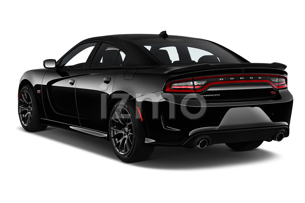 2018 Dodge Charger R/T Scat Pack 4 Door Sedan angular rear