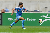 Bridgeview, IL - Sunday August 20, 2017: Christen Press during a regular season National Women's Soccer League (NWSL) match between the Chicago Red Stars and FC Kansas City at Toyota Park.
