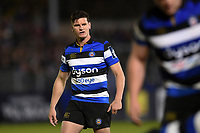 Freddie Burns of Bath Rugby looks on. Anglo-Welsh Cup match, between Bath Rugby and Leicester Tigers on November 10, 2017 at the Recreation Ground in Bath, England. Photo by: Patrick Khachfe / Onside Images