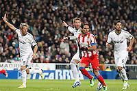 Sergio Ramos and Radamel Falcao during La Liga Match. December 01, 2012. (ALTERPHOTOS/Caro Marin)