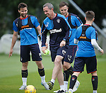 David Weir with Darren McGregor and Danny Wilson